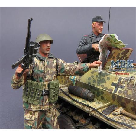 Wehrmacht 46 Tank Commander & Soldier