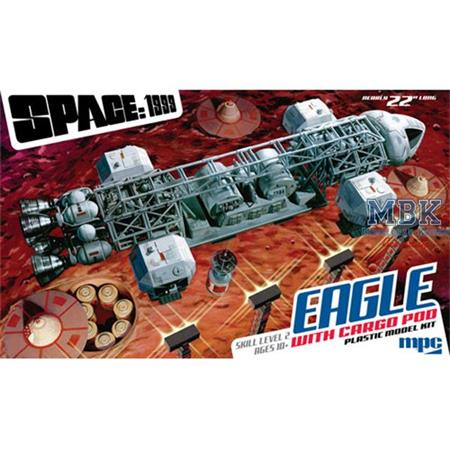 Space:1999 Eagle Transporter Cargo Version