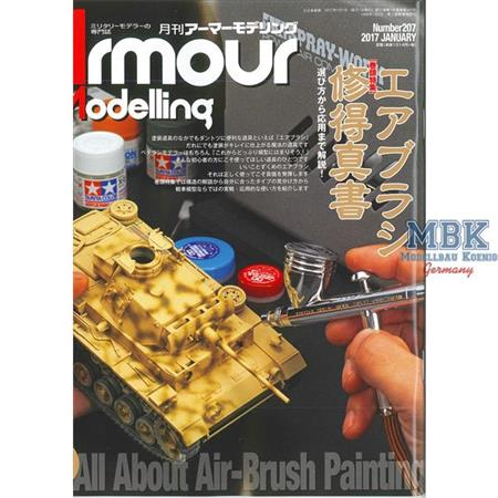 Armour Modelling Januar 2017 No. 207