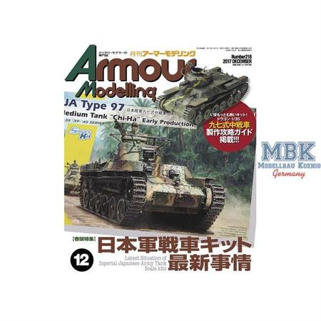 Armour Modelling Vol. 218   12/2017