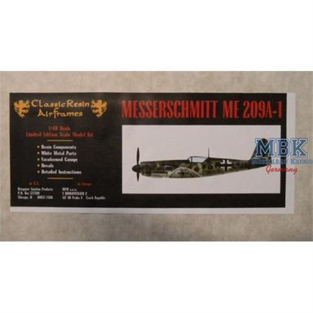 Messerschmitt Me 209A-1