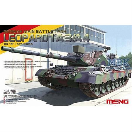 German Main Battle Tank Leopard 1 A3/A4