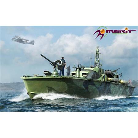 US Navy Elco 80-ft. Patrol Torpedo Boat, late