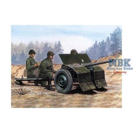 "37mm ""Bofors\"" anti-tunk gun"