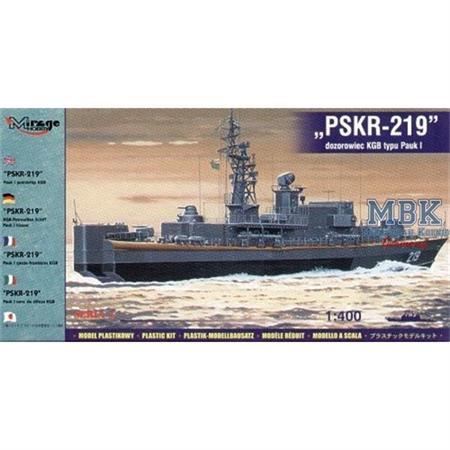 """PSKR-219"""" Pauk I Guardship KGB 1:400"""