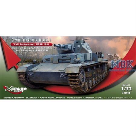 Pz.Kpfw. IV Ausf.E, Barbarossa 1941