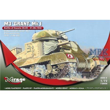 "M3 GRANT Mk I ""Battle of Gazala"""