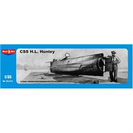 CSS H.L. Hunley, Confederate submarine