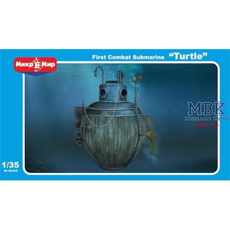 First Combat Submarine Turtle
