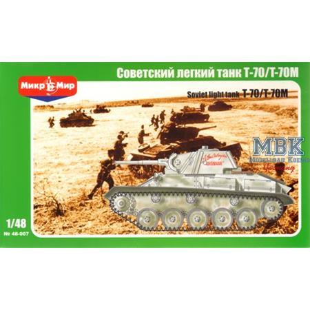 Soviet light tank T-70