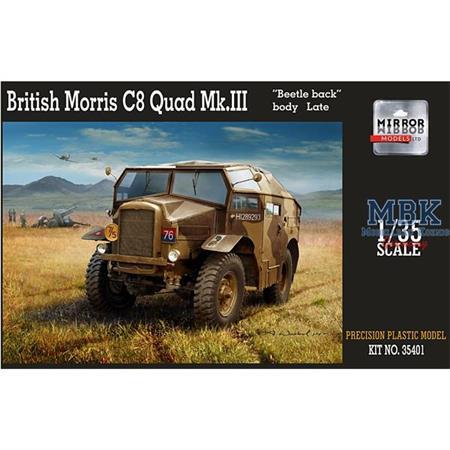 Morris C8 Quad Mk. III Late