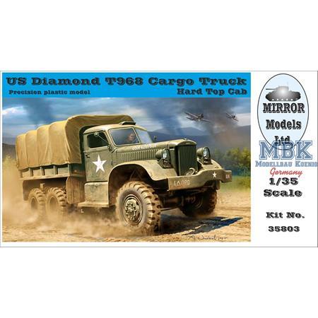 US Diamond T968 Cargo Truck w/ Hard Top Cab