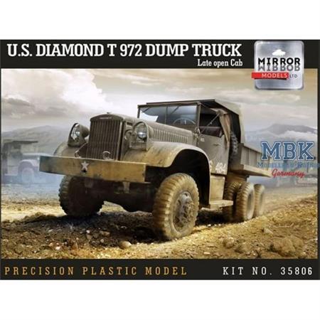 U.S. Diamond T 972 Dump Truck late open cab