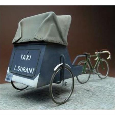Rikscha, Fahrrad Taxi Frankreich 1940iger Jahre