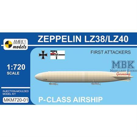 Zeppelin P-class LZ38/LZ40 'First Attackers'