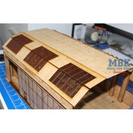 Dach Set mit Fenstern
