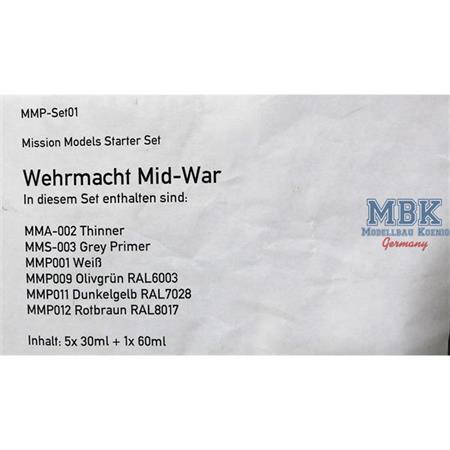 Wehrmacht Mid-War Set