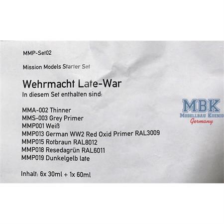 Wehrmacht Late-War Set
