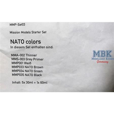 NATO colors Set