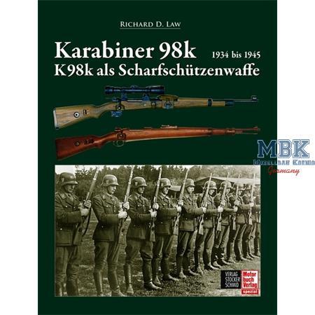 Karabiner 98 und 98k als Scharfschützenwaffe