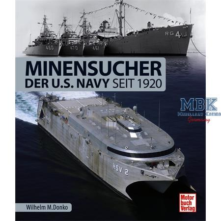 Minensucher der U.S. Navy seit 1920