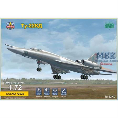Tupolev Tu-22KD Shilo medium bomber