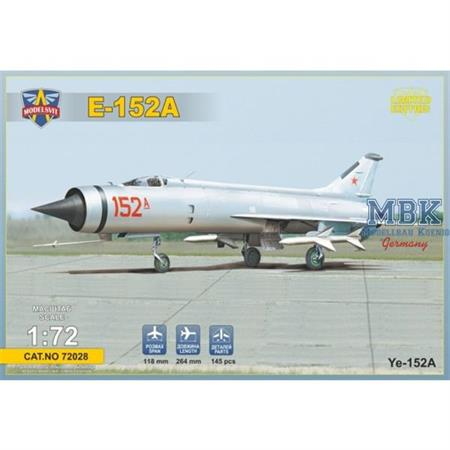 Mikoyan-Gurevich Ye-152 Flipper