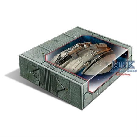 BSG Original Cylon Raider Fertigmodell / Finished