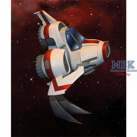 Battlestar Galactica Super Deformed Egg Viper MKII