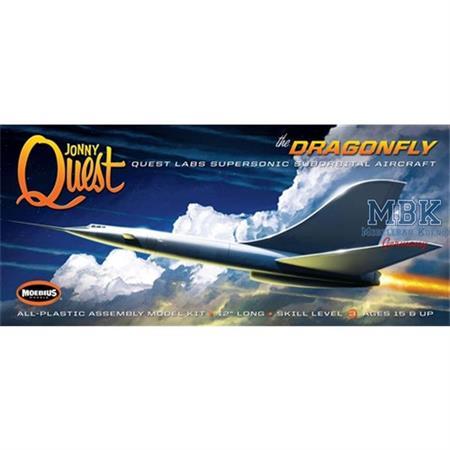 Jonny Quest Dragonfly (The Quest Jet)