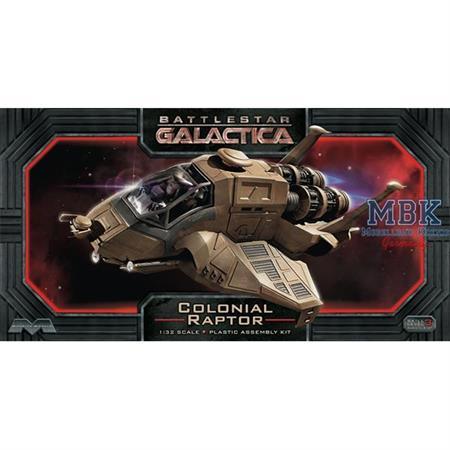 Battlestar Galactica Colonial Raptor (1:32)
