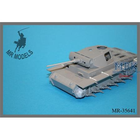 Geschützrohr / Barrel 5cm KwK 42 L/60 Panzer III M