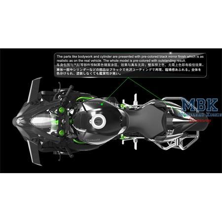 Kawasaki Ninja H2R -  Pre-colored Edition 1:9