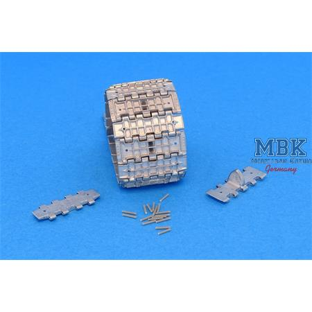 Workable Metal Tracks f. T-34 550mm M1942 Type 2