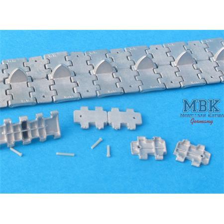 Workable Metal Tracks f. T-34  M1943 halfes tracks