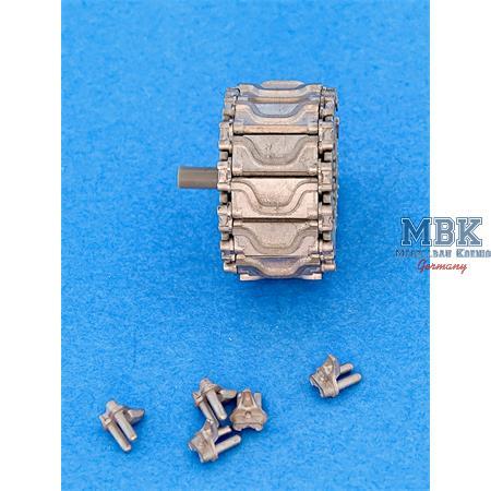 Workable Metal Tracks f. M4 Sherman Type T74