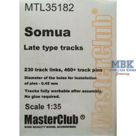 Workable Metal Tracks for Somua (late)