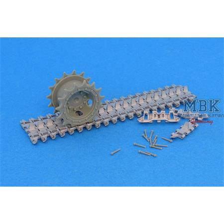 Workable Metal Tracks for Merkava Mk. 2