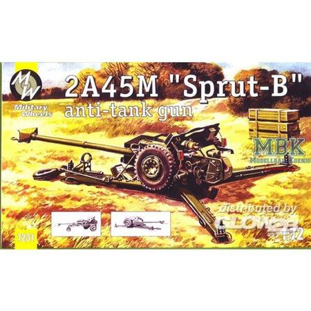 """2A45M """"Sprut-B"""" anti-tank gun"""