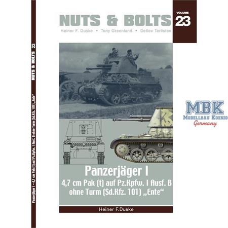 #23 - Panzerjäger I - 4,7cm Pak (t) auf Pz.Kpfw. I