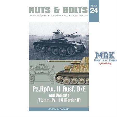 #24 - Pz.Kpfw. II Ausf. D/E and Variants