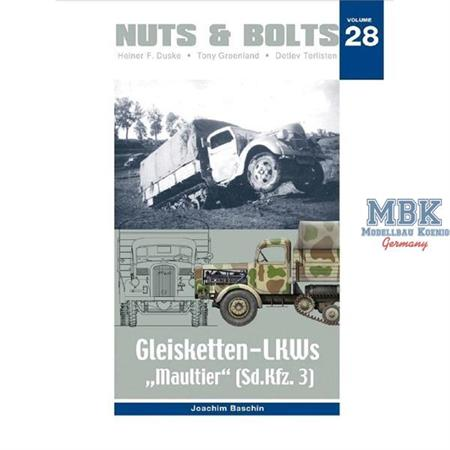 "#28 - Gleisketten-LKWs ""Maultier"" (Sd.Kfz. 3)"