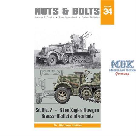 #34 - Sd.Kfz.7 – 8 ton Zugkraftwagen Krauss-Maffei