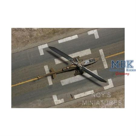 military helicopter tarmac 1:144