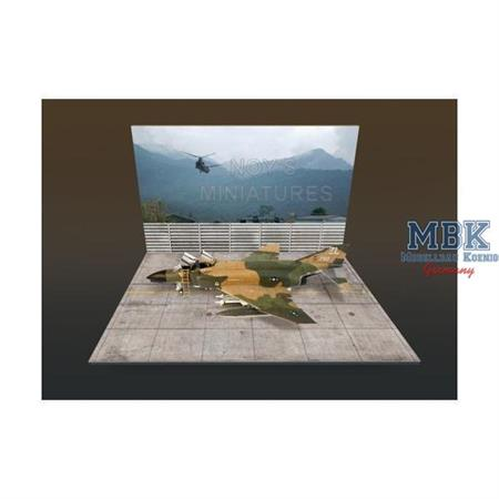 """South East Asia (SEA) Airfield set with Backdrop"""