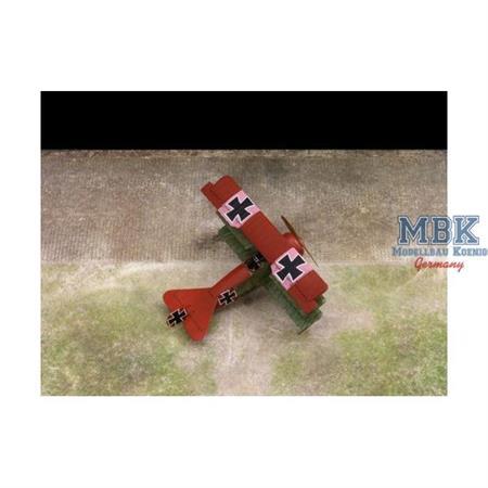 """WWI Airfield Base"" 60x40cm"