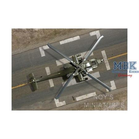 military helicopter tarmac