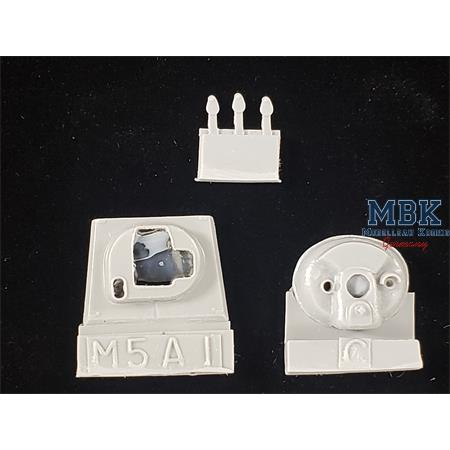 M5/M5A1 replacement mantle w/counter weight C