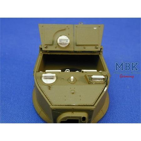 M3A3 Super Detailed Turret Roof Assembly