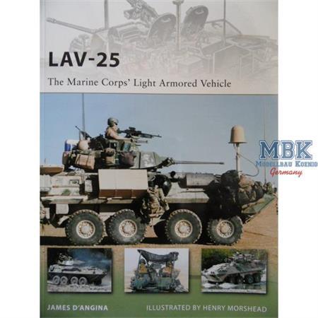 LAV-25 The Marine Corp's Light Armored Vehicle